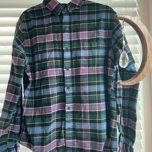 Lands End Primary Color Flannel